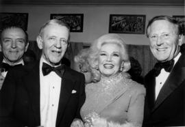 Fred Astaire, Ginger Rogers and Hugh Pickett