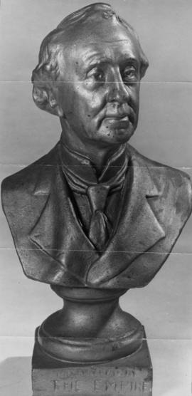 [Bust of Sir John A. MacDonald]