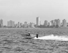 Vancouver Sea Festival, power boat racing [English Bay and West End]