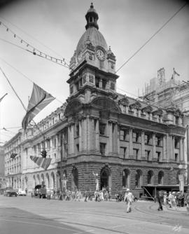 [Exterior of General Post Office at 701 West Hastings Street]