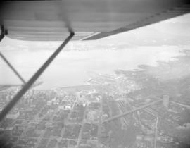 [Aerial view of Vancouver]