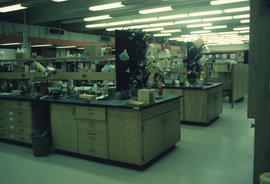 1 Inside chemistry laboratory with equipment [UBC Chemistry lab?]