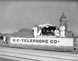 C.P. Exhibition Parade - B.C. Telephone float