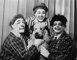 Jim Douglass and Co. l to r: Kent Chastain, Joe Grega, Jim Douglass and Minnie : [publicity photo...