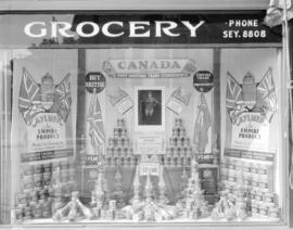 Brown's grocery [at Davie Street and Burrard Street]