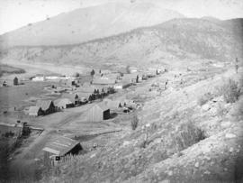 Town of Lytton From Railway Looking North