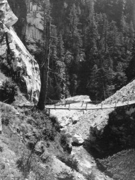 Footbridge over Coquehalla [Coquihalla] River