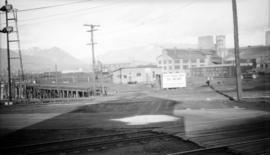 [View of Vancouver Harbour Commission Wharf]