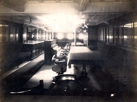 Interior of First-Class Saloon, Empress of India