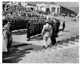 Premier W.A.C. Bennett at 1964 P.N.E. Opening Ceremonies