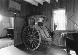 Hansom cab that plied on the Vancouver streets, in the Pioneer's Museum (Old Hastings Mill S...