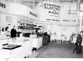 Standard Electric and Radio display of household appliances