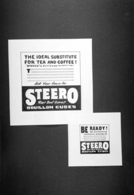 [Posters for Steero beef bouillon]