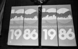 Vancouver Centennial banners