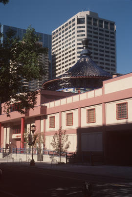 Exterior of Calgary Chinese Cultural Centre