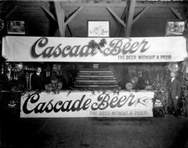 Cascade Beer display