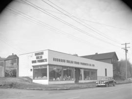 [Exterior view of Hodgson Walsh Wood Products B.C., Ltd.]