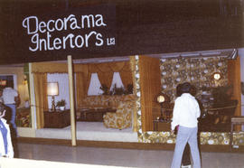Decorama Interiors display of home furniture and accessories