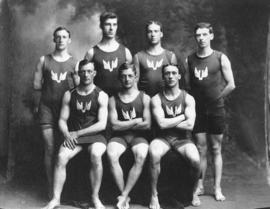 [Vancouver Amateur Swimming Club group photograph]