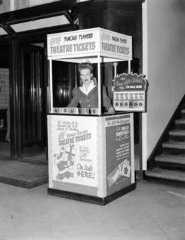 [Famous Players Theatre ticket booth]