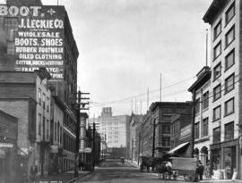 [Water Street looking west towards Cambie Street]