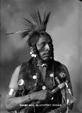 Chief-Boy - Blackfeet Indian
