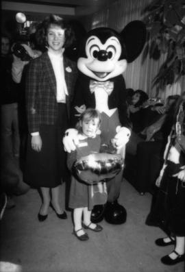 Karen Neveu, Mickey Mouse and child