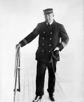 Portrait of unidentified ship's captain or officer