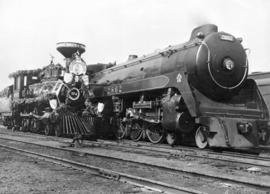 [C.P.R. locomotives #374 and #2862]