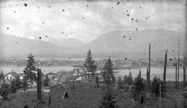 [View of downtown Vancouver from Mount Pleasant]
