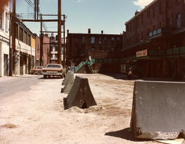 Blood Alley and Trounce Alley prior to construction
