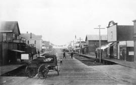 [View of Second Avenue looking north]