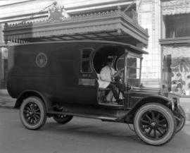 Hudson Bay Delivery Truck [and Driver]