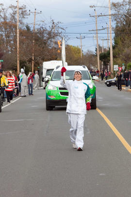 Day 001, torchbearer no. 059, Shelley Eaves - Central Saanich