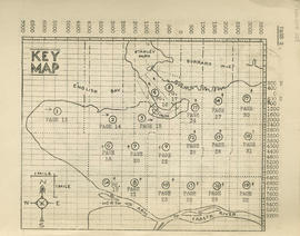 Sectional map and street directory of Vancouver, British Columbia : key map