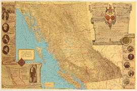 British Columbia : an historical illustrated map commemorating two centenaries, 1867-1967, 1866-1966