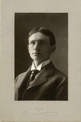 [Head and shoulders portrait of Arthur D. Baker]