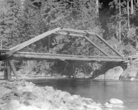 [Bridge over Capilano Creek]