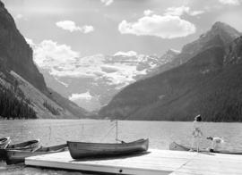 [View of] Lake Louise