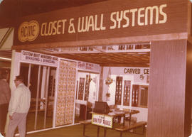 Acme Closet and Wall Systems display booth