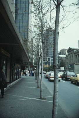 West side of Hornby Street between Smithe and Robson Streets