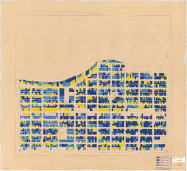 Age of buildings : Blenheim Street to Arbutus Street and Point Grey Road to Broadway