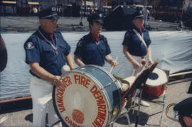 Vancouver Fire Department Band percussion