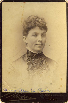Portrait of Harriet Ellen Lee Godfrey