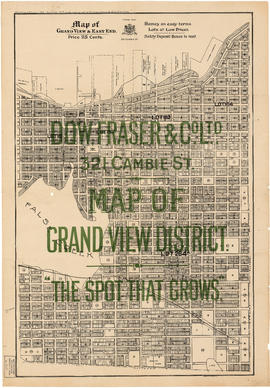 Map of Grandview and east end