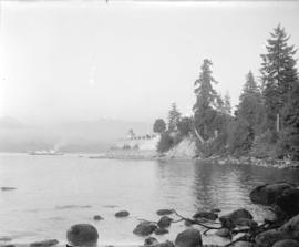 Brockton Point showing West Vancouver ferry