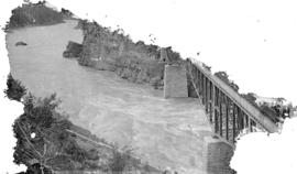 C.P.R. Cantilever bridge, crossing Fraser River, Cisco