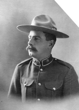 Captain W. Scarth - N.W.M.P. [North West Mounted Police]