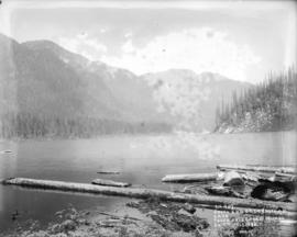 South end of Coquitlam Lake, taken from co-ord. 15.1090 on 4th July 1913