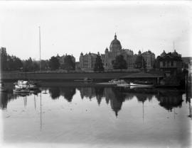Parliament Buildings from the water